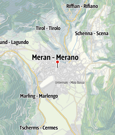 Map / From Merano to Lake Garda - South Tyrol, Brenta Dolomites & Trentino
