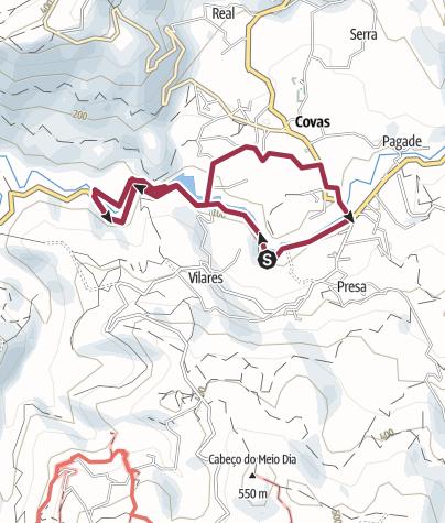 Map / Trilho Interpretativo da Ribeira de Covas