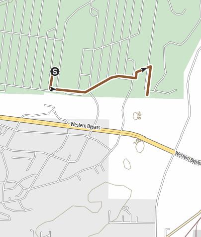 Map / base to creek