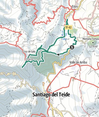 Karte / Gala - Runde, Teneriffa 4