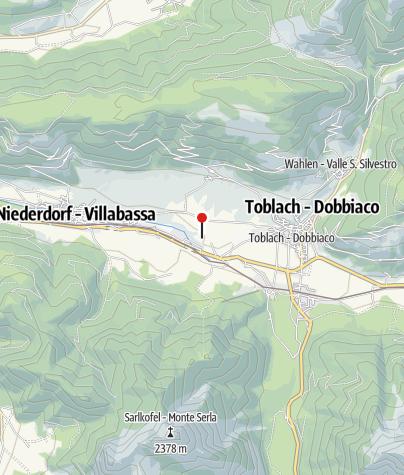 Karte / Dolomiten - Höhenwege