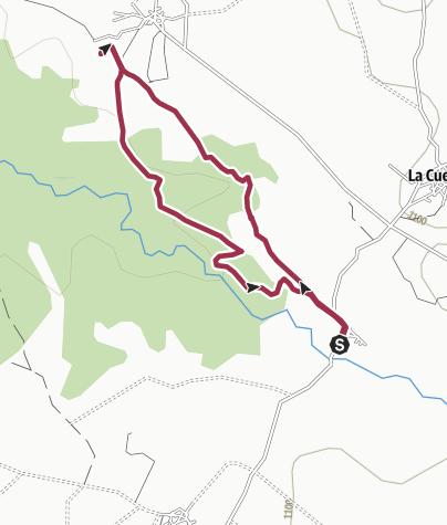 Map / SEGOVIA Berrocal-Carrascal-Berrocal