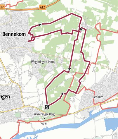 Map / Wageningsebos