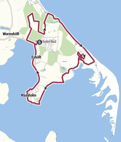 Map / Maßnehmen in Maasholm
