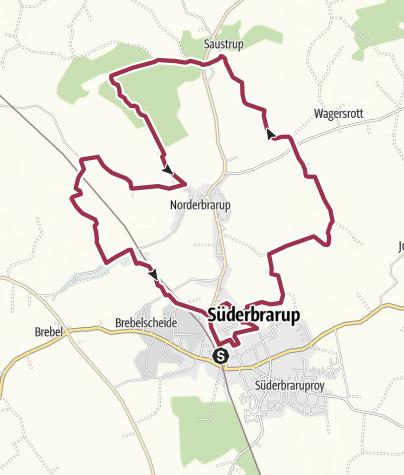 """Map / Tourentipp 05/2016 """"Eiszeit, Eisenzeit, Neuzeit"""""""