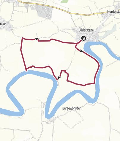 Map / Tourentipp 10/2017 Landschaft Stapelholm