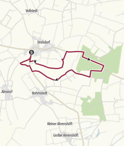 Map / Drelsdorf Tourentipp