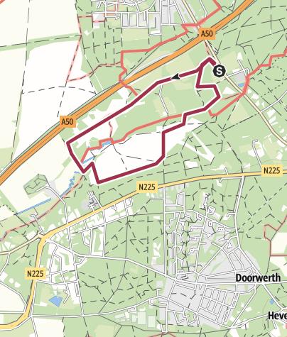 Map / Wolfhezer bos