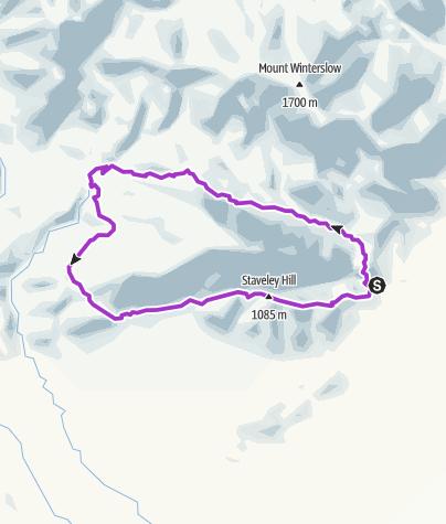 Map / Mt Somers Walkway