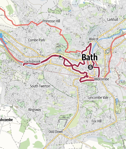 Map / Find Another Bath walk