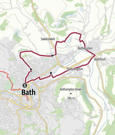 Map / Workhouse Walk 3 Eastern parishes