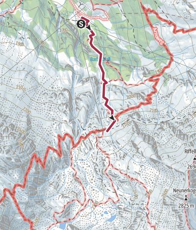 Hohe Tauern Karte.Familientour Das Raurisertal Nationalpark Hohe Tauern 2 Etappe