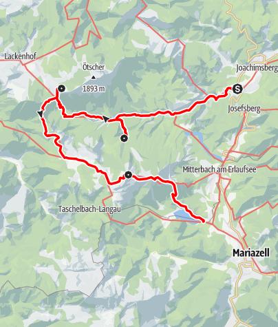 Map / Familientour: Der Ötscher