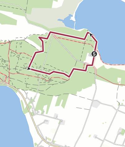 Map / Vilsbøl plantage