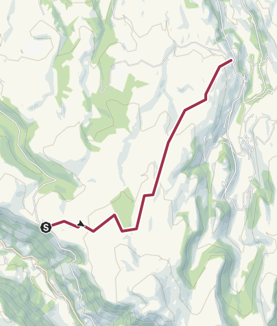 Map / Promenade Collandre