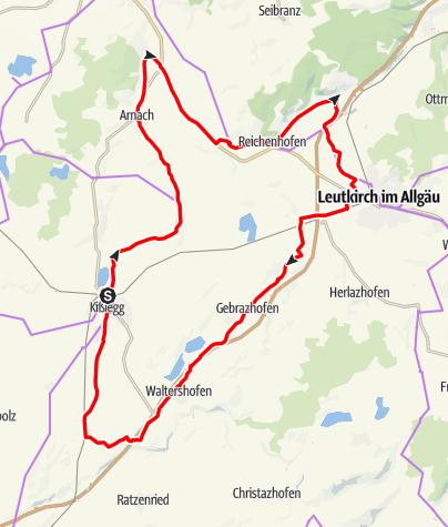 Karte / Schatzkiste Allgäu