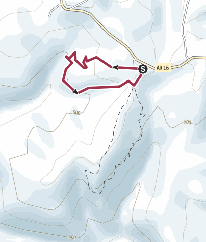 Map / Kings Bluff Falls