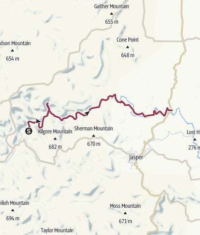 Map / Steel Creek to Pruitt