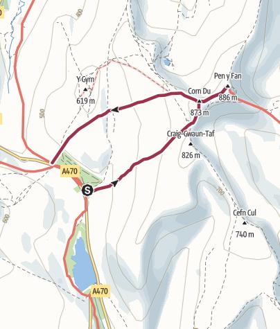 Map / Pen-Y-Fan Short - Free Version