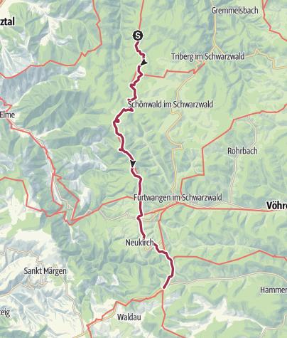 Map / Westweg Etappe 7