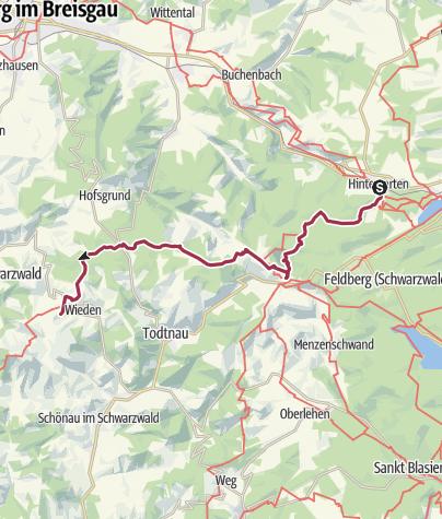 Map / Westweg Etappe 9