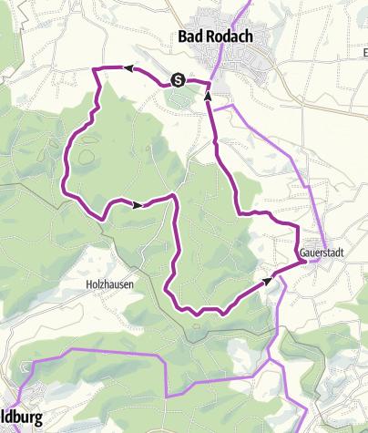 Karte / Tour 7 - Georgenberg Rundfahrt