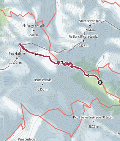 Map / Pineta-Astazu pequeño
