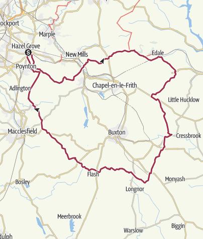 Map / Bullock Smithy Hike