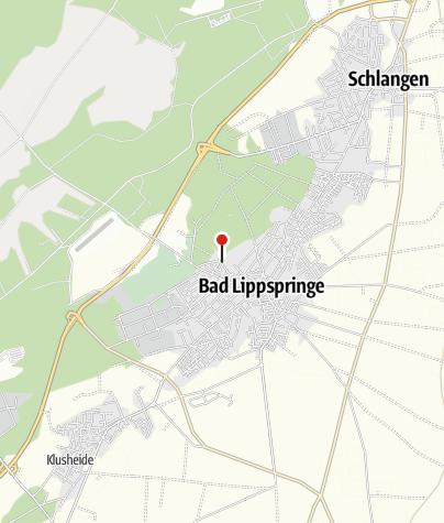 Karte / Klinik Martinusquelle (An der Martinusquelle) Bad Lippspringe