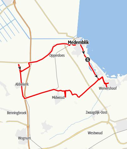 Map / Medemblik Runde 1