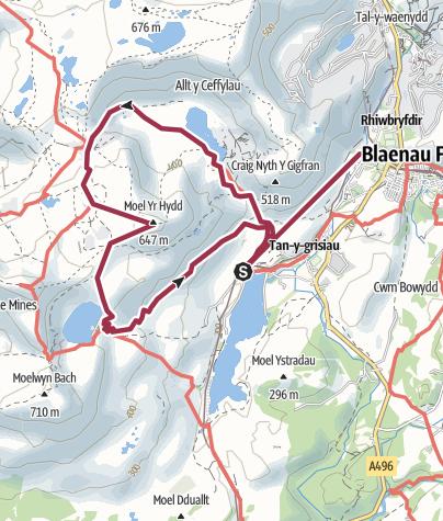 Map / stwlan moel yr hydd 29 Dec14