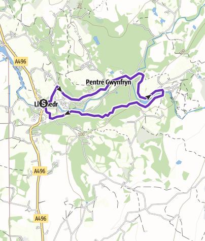 Map / Christmas Run