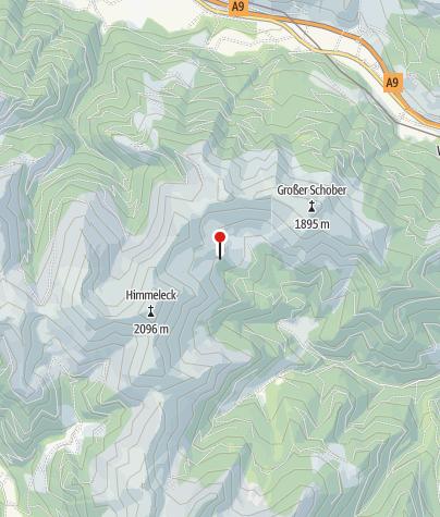 Karte / Leistenkarhütte 1591m