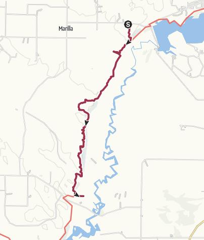 Map / NTC - Beers Road to Red Bridge