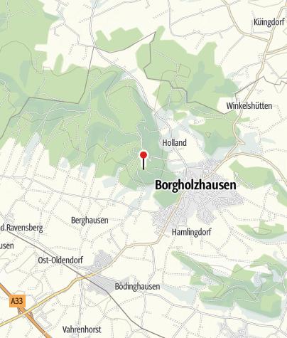 Karte / Luisenturm Borgholzhausen