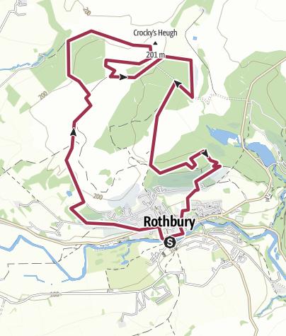 Map / Rothbury Carriage Ways