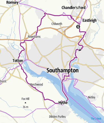 Map / Route23 Hythe ferry