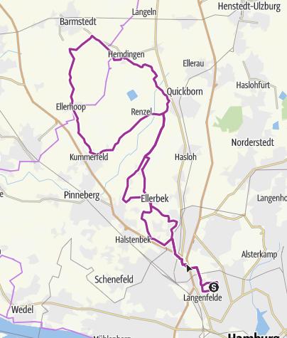 "Karte / NDR Permanente ""Ellerbeker Runde"""