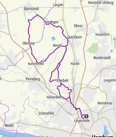 "Map / NDR Permanente ""Ellerbeker Runde"""