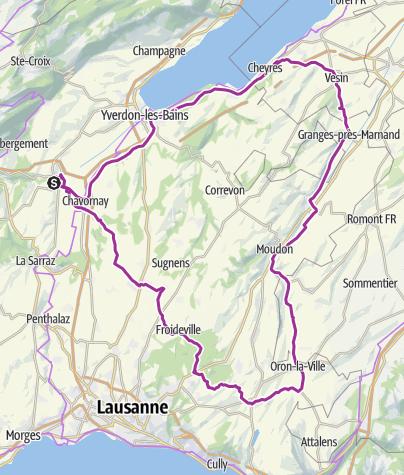 Map / Wysam 333 | Parcours 111 km