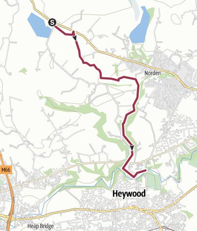 Map / Rochdale Way Wk 2