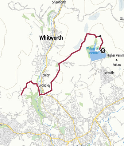 Map / Rochdale Way Wk 8