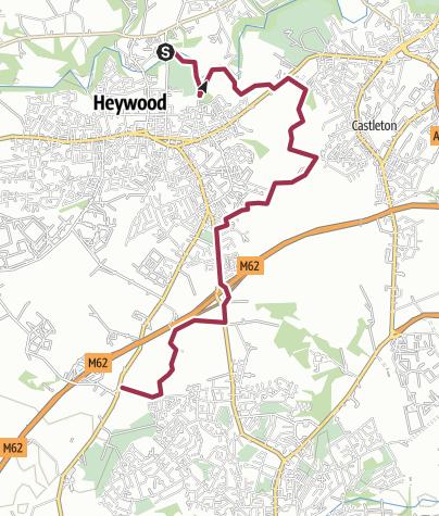 Map / Rochdale Way Wk 3