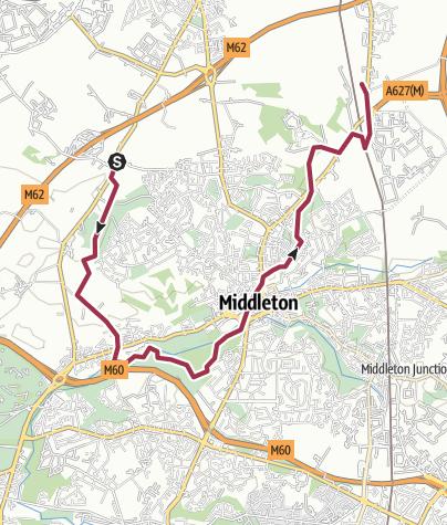 Map / Rochdale Way Wk 4