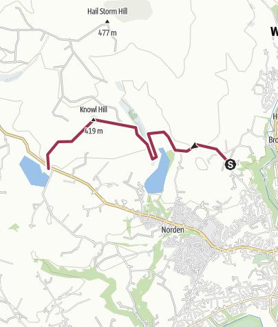 Map / Rochdale Way Wk 1