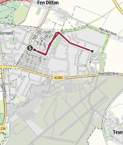 Map / East Barnwell health walk