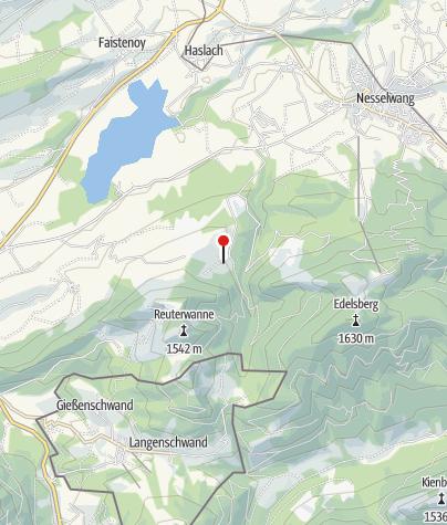 Karte / Haslacher Alpe