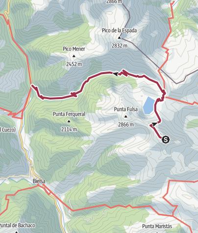 Map / PUNTA SUELZA. PIRINEOS