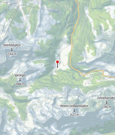 Karte / Hintergnadenalm
