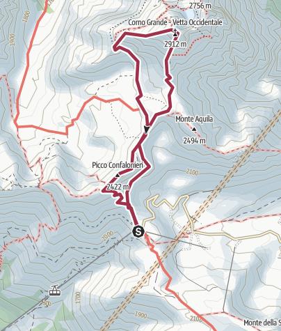 Mapa / CornoGrande-direttissima-Discesa_CrestaOvest